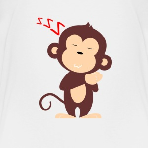 Monkey Sleeping - Kids' Premium T-Shirt