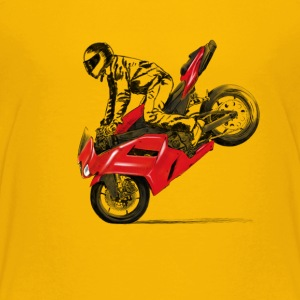 motorcycle stunt Baby & Toddler Shirts - Toddler Premium T-Shirt