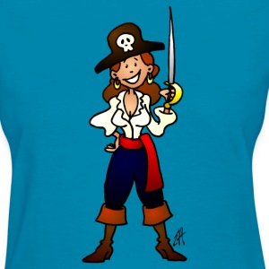 Pirate girl Women's T-Shirts - Women's T-Shirt