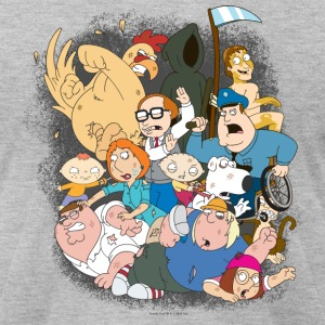 Family Guy Characters - Men's T-Shirt by American Apparel