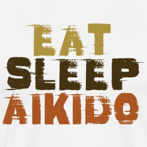 EAT SLEEP AIKIDO - Men's Premium T-Shirt