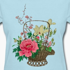 Japanese Ikebana Women's T-Shirts
