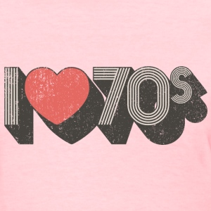 I Love 70s - Women's T-Shirt