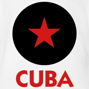 A star for Cuba Baby Bodysuits - Short Sleeve Baby Bodysuit