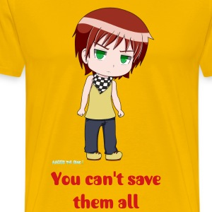 Isaac (you can't save them all) - Men's Premium T-Shirt