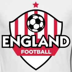 Football coat of arms of England Long Sleeve Shirts