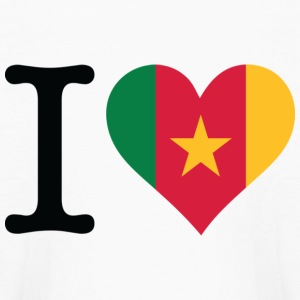 I love Cameroon Kids' Shirts - Kids' Long Sleeve T-Shirt