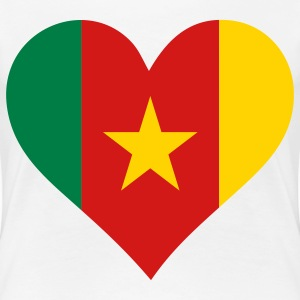 A heart for Cameroon Women's T-Shirts - Women's Premium T-Shirt