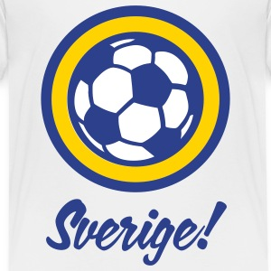Football crest of Sweden Baby & Toddler Shirts - Toddler Premium T-Shirt