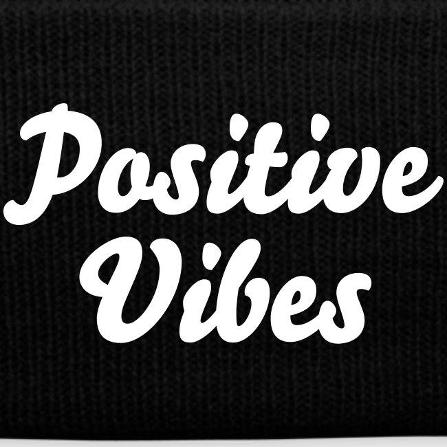 'Positive Vibes' Knit Cap