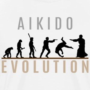 Aikido Evolution - Men's Premium T-Shirt