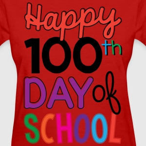 100th Days of School - Women's T-Shirt