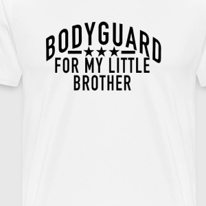 bodyguard_for_my_little_brother - Men's Premium T-Shirt