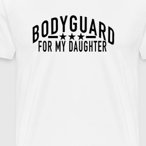 bodyguard_for_my_daughter - Men's Premium T-Shirt