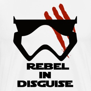 Rebel In Disguise - Men's Premium T-Shirt