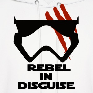 Rebel In Disguise - Men's Hoodie
