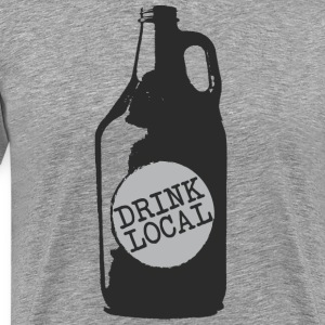 Drink Local (Craft Beer) - Men's Premium T-Shirt