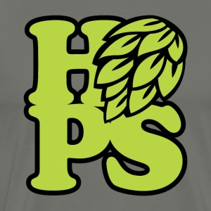 Hops! (CRAFT BEER) - Men's Premium T-Shirt