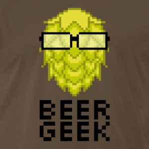 Beer Geek (CRAFT BEER) - Men's Premium T-Shirt