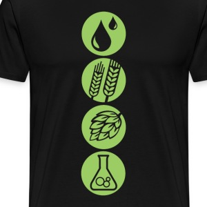 Craft Beer Ingredients - Men's Premium T-Shirt