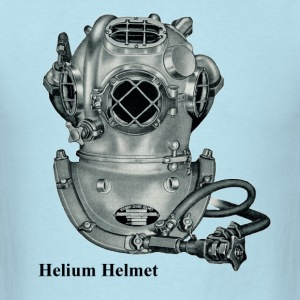 Vintage Helium Mark V Deep Sea Diving Helmet - Men's T-Shirt