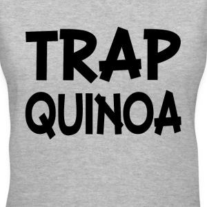 Trap Quinoa Trap Queen funny - Women's V-Neck T-Shirt