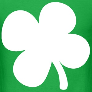 Shamrock 4-Leaf Clover T-Shirts - Men's T-Shirt