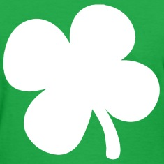 Shamrock 4-Leaf Clover Women's T-Shirts