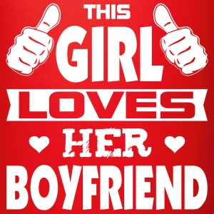 This Girl Loves Boyfriend Mugs & Drinkware - Full Color Mug