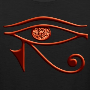 Fiery Eye Of Horus Tank Top - Men's Premium Tank