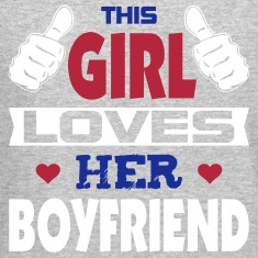 This Girl Loves Boyfriend Long Sleeve Shirts