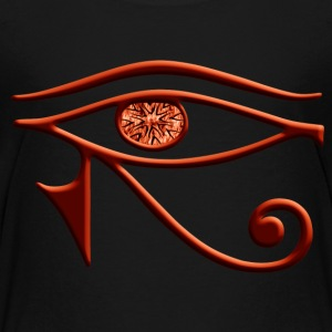 Fiery Eye Of Horus Shirt - Kids' Premium T-Shirt