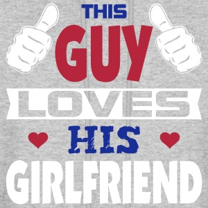 This Guy Loves His Girlfriend Hoodies - Men's Hoodie