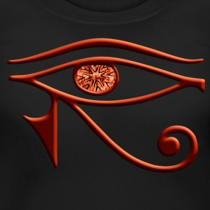 Fiery Eye Of Horus Maternity Shirt - Women's Maternity T-Shirt