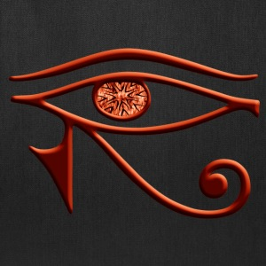 Fiery Eye Of Horus Tote Bag - Tote Bag