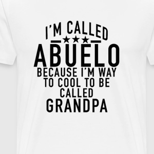 they_called_me_abuelo - Men's Premium T-Shirt