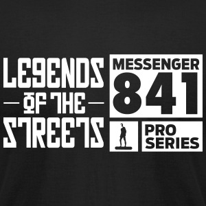 Legends Of The Streets Premium Logo Tee - Men's T-Shirt by American Apparel