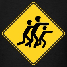 Warning Sign Zombies
