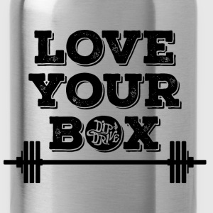 Love Your Box Steel Water Bottle - Water Bottle