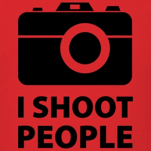 I Shoot People - Men's T-Shirt