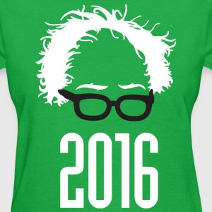 Bernie 2016 Hair & Glasses Women's T-Shirts - Women's T-Shirt