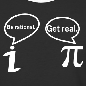 BE RATIONAL-GET REAL T-Shirts - Baseball T-Shirt