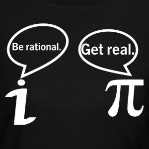 BE RATIONAL-GET REAL Long Sleeve Shirts - Women's Long Sleeve Jersey T-Shirt