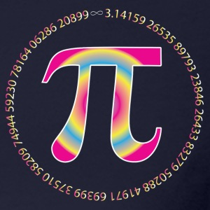 PI CIRCLE WITH NUMBERS Long Sleeve Shirts - Women's Long Sleeve Jersey T-Shirt
