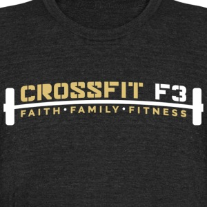 CrossfitF3 We Do Work Tri Blend T-Shirt - Unisex Tri-Blend T-Shirt by American Apparel