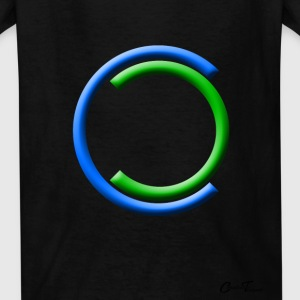 shapes - qtrrings-blue Kids' Shirts - Kids' T-Shirt