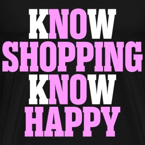 know shopping know Happy - Men's Premium T-Shirt