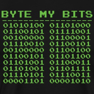 Byte my Bits - Men's Premium T-Shirt