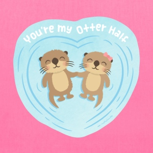 You Are My Otter Half Bags & backpacks - Tote Bag