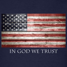 In God We Trust American Flag
